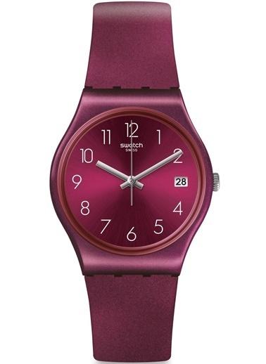 Swatch GR405 Bayan Kol Saati Bordo